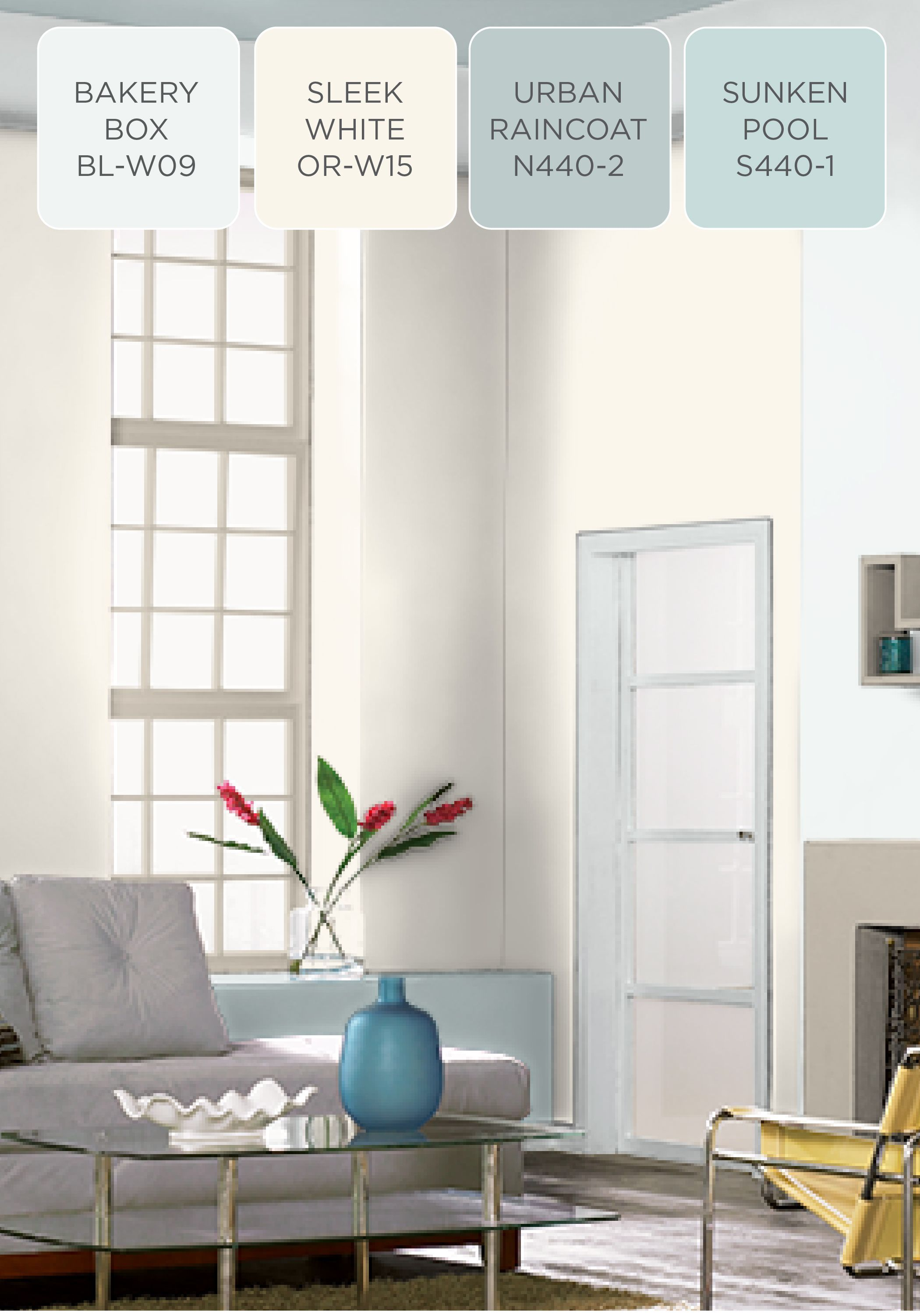Create An Oasis In Your Home By Incorporating This Soothing Color Scheme Of Behr Paint Color Palette Living Room Behr Paint Colors Paint Colors For Living Room #soothing #living #room #colors