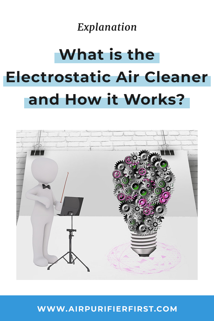 The technology behind the electrostatic air purifier is