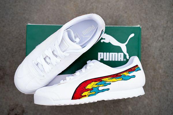 Shuraba resistirse Cha  Custom Puma's