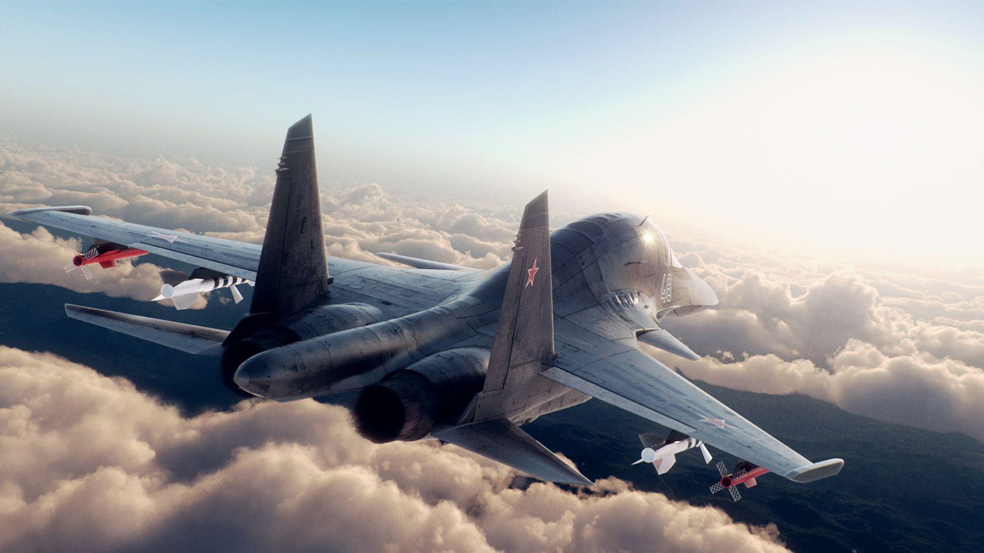 Обои истребители, Облака. Авиация foto 19