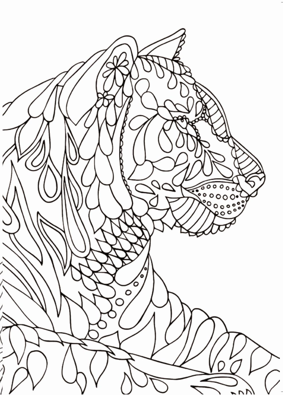 Animal Coloring Pages For 6 Year Olds Fresh Printable Mindfulness Colouring Printable 360 Degree Animal Coloring Pages Mindfulness Colouring Coloring Books [ 1376 x 986 Pixel ]