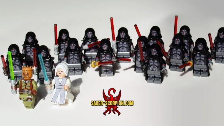 Sith Warrior Star Wars minifigure  toy figure