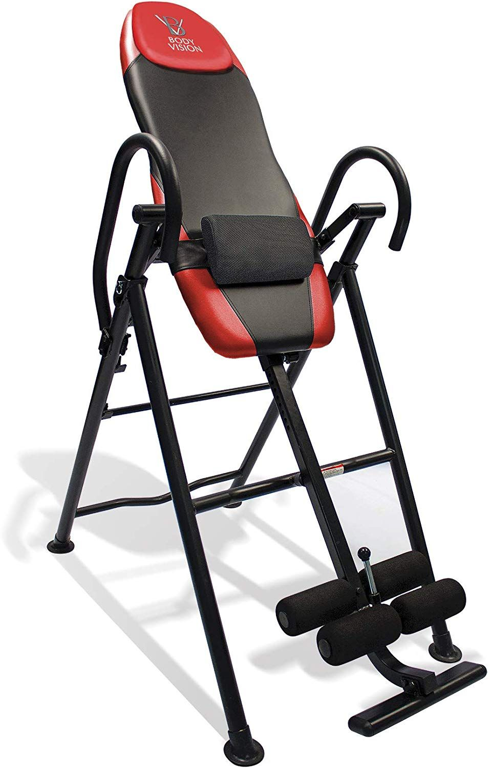 health gear inversion table with heat and massage