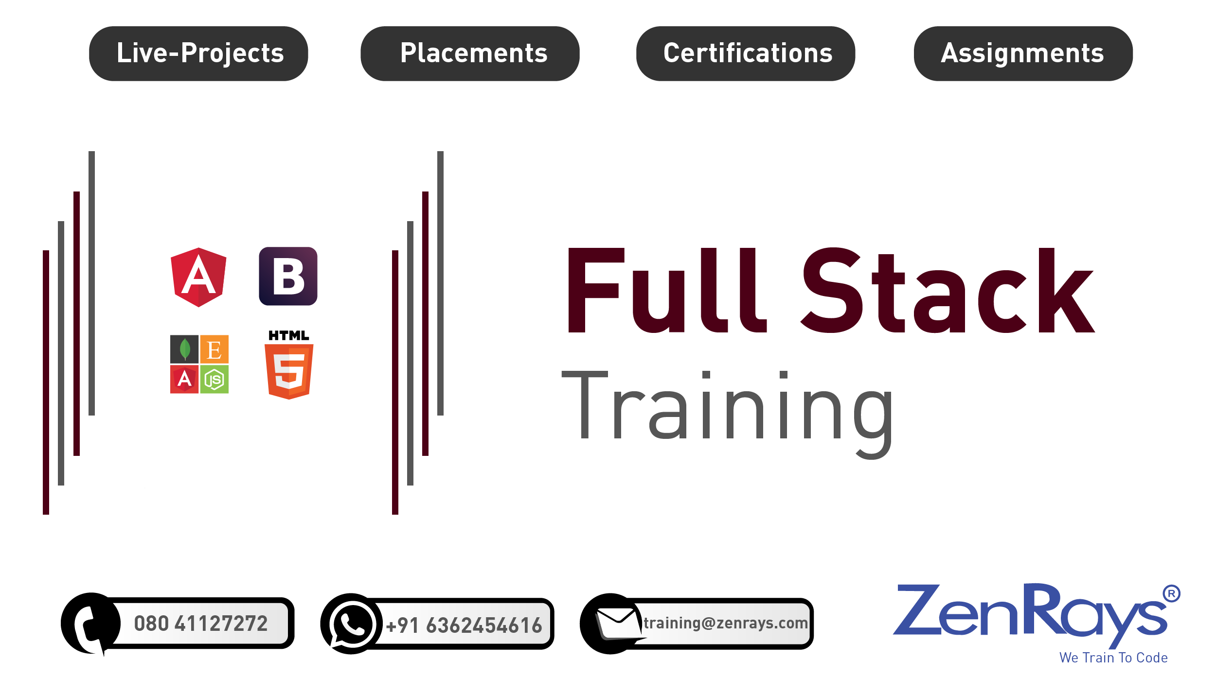 Best Full Stack Development Training Institute In Bangalore Classroom Training Train Full Stack