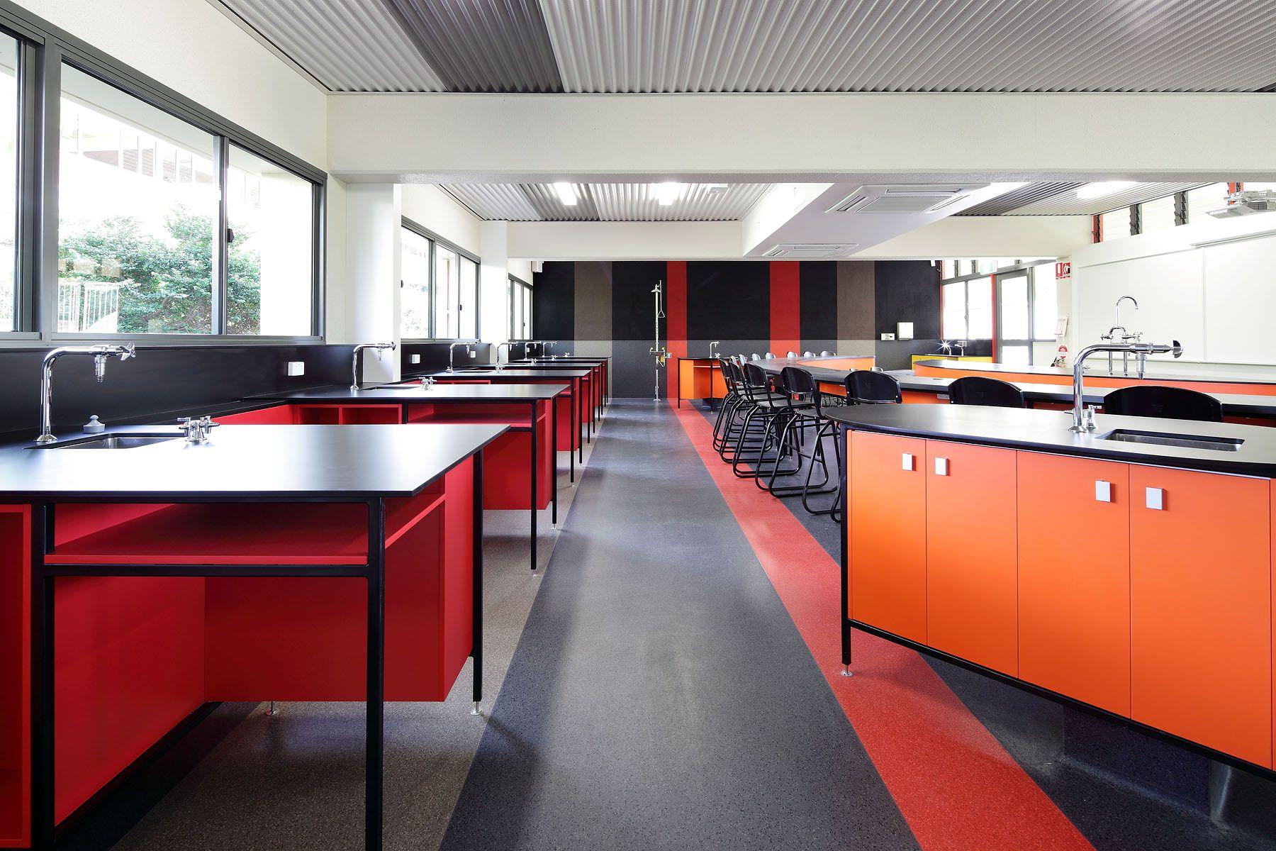 St Edmunds College Science Lab Interiordesign Interior Design School Sciencelab