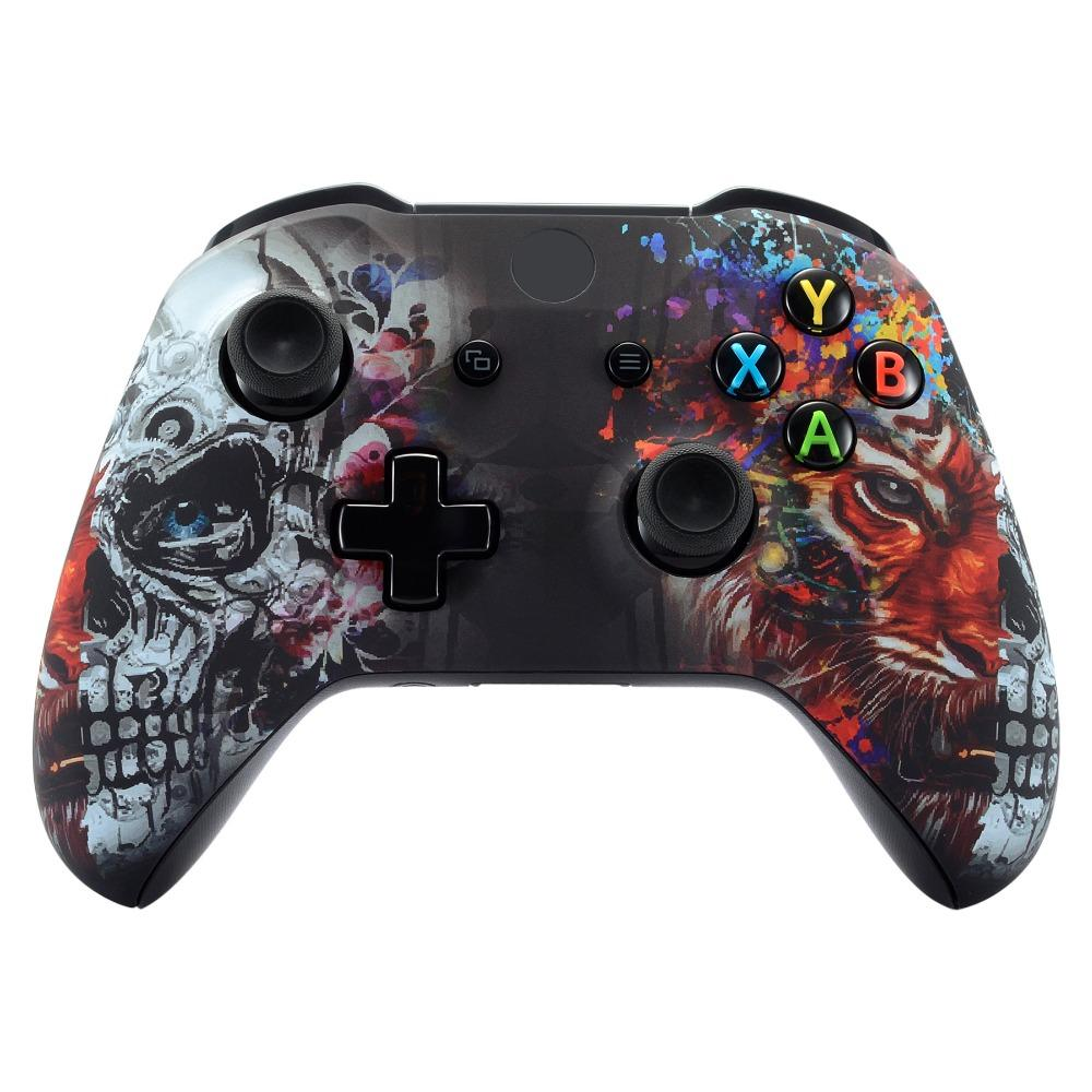 Xbox One X Xbox One S Controller Shell Tiger Skull Xbox One