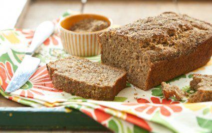 Flax and honey banana bread recipe banana bread bananas and honey flax and honey banana bread forumfinder Gallery
