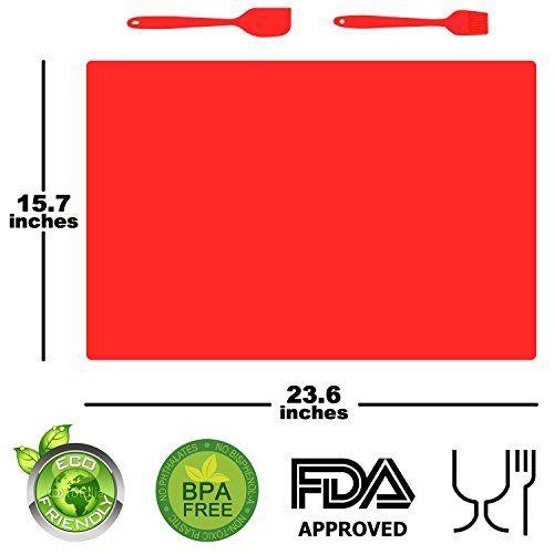 Silicone Baking Mat Set,Professional Heat-Resistant Non-S... https://smile.amazon.com/dp/B01MYWNRGK/ref=cm_sw_r_pi_dp_x_5arDyb9SJXJTG