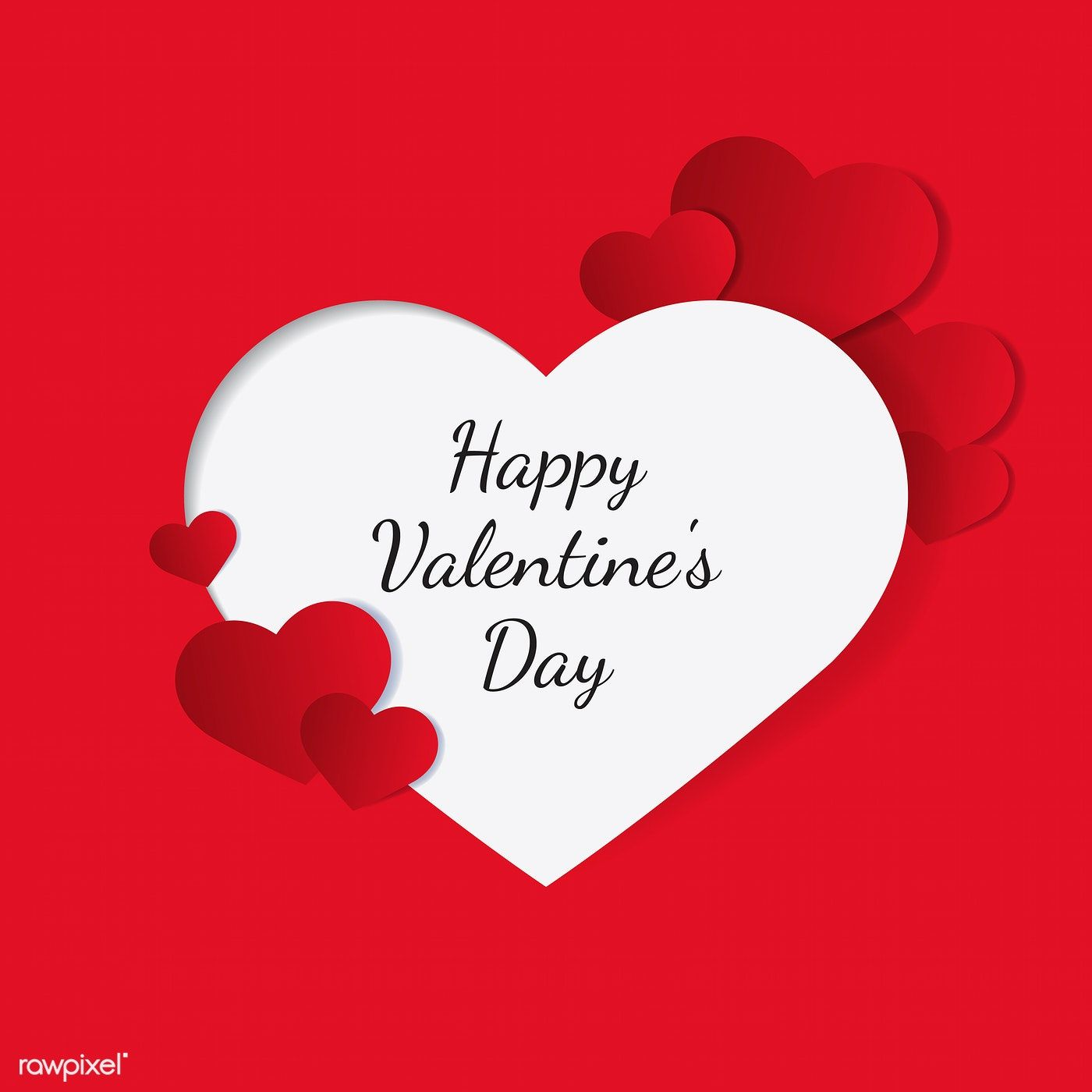 Valentine's day vector design concept free image by