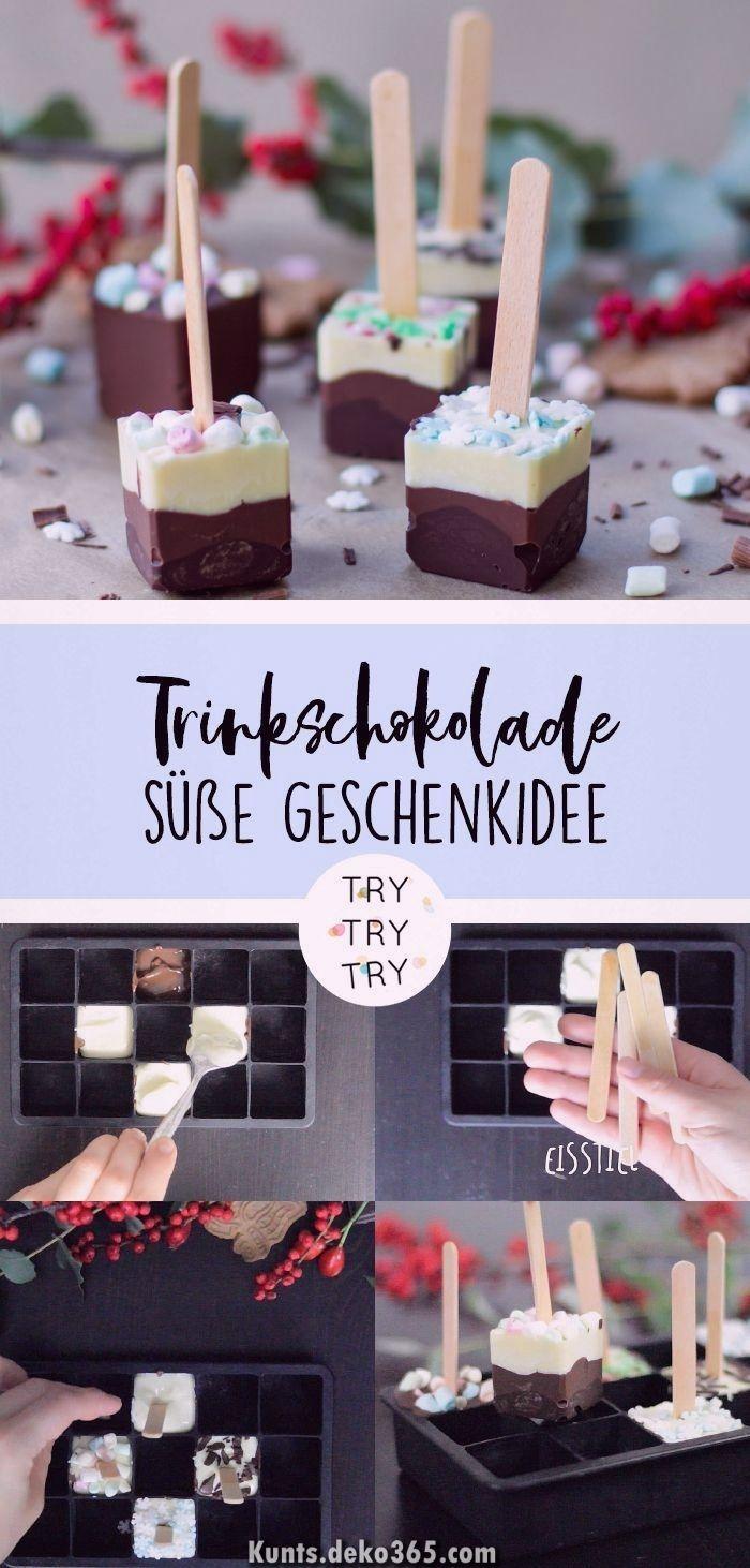 Ausgezeichnet Chocolate Lolly - Trinkschokolade wie Geschenk (Weihnachten) DIY / DIY-GESCHENK... #geschenkideenweihnachteneltern