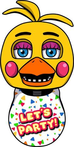 Toy Chica Head By Kaizerin Deviantart Com On Deviantart