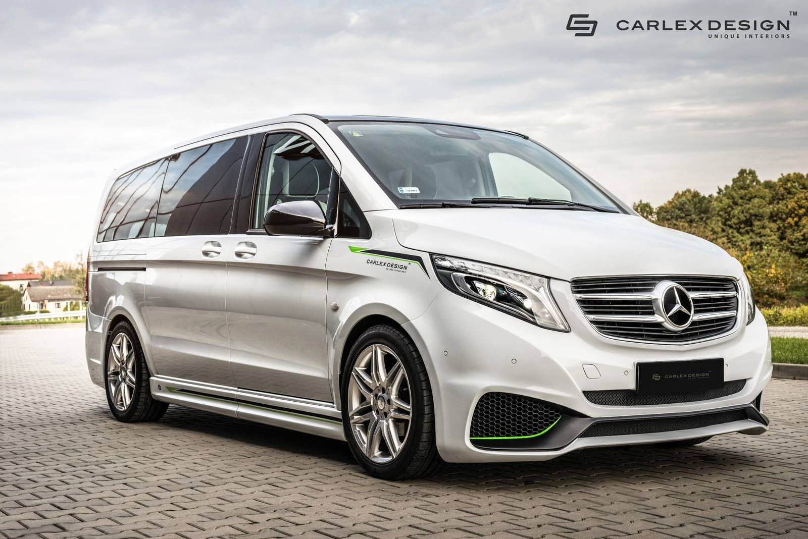 Mercedes v class gets full treatment from carlex design - Carlex Design Gives Mercedes Benz Vito A More Aggressive Look Outside And In Mb V250 Hartman Pinterest Mercedes Benz Vito Mercedes Benz And Top Car