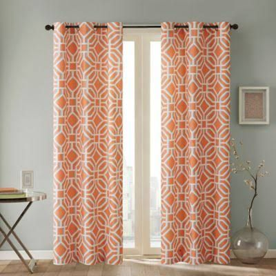 orange curtains - Google Search