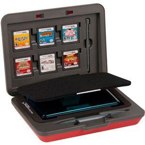 PowerA DS Universal Hard Case - Red (DS, DSI, DSIXL, 3DS ...