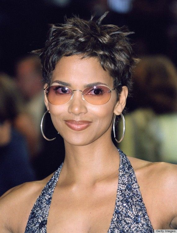 Halle Berry Haircut Halle Berry Pinte