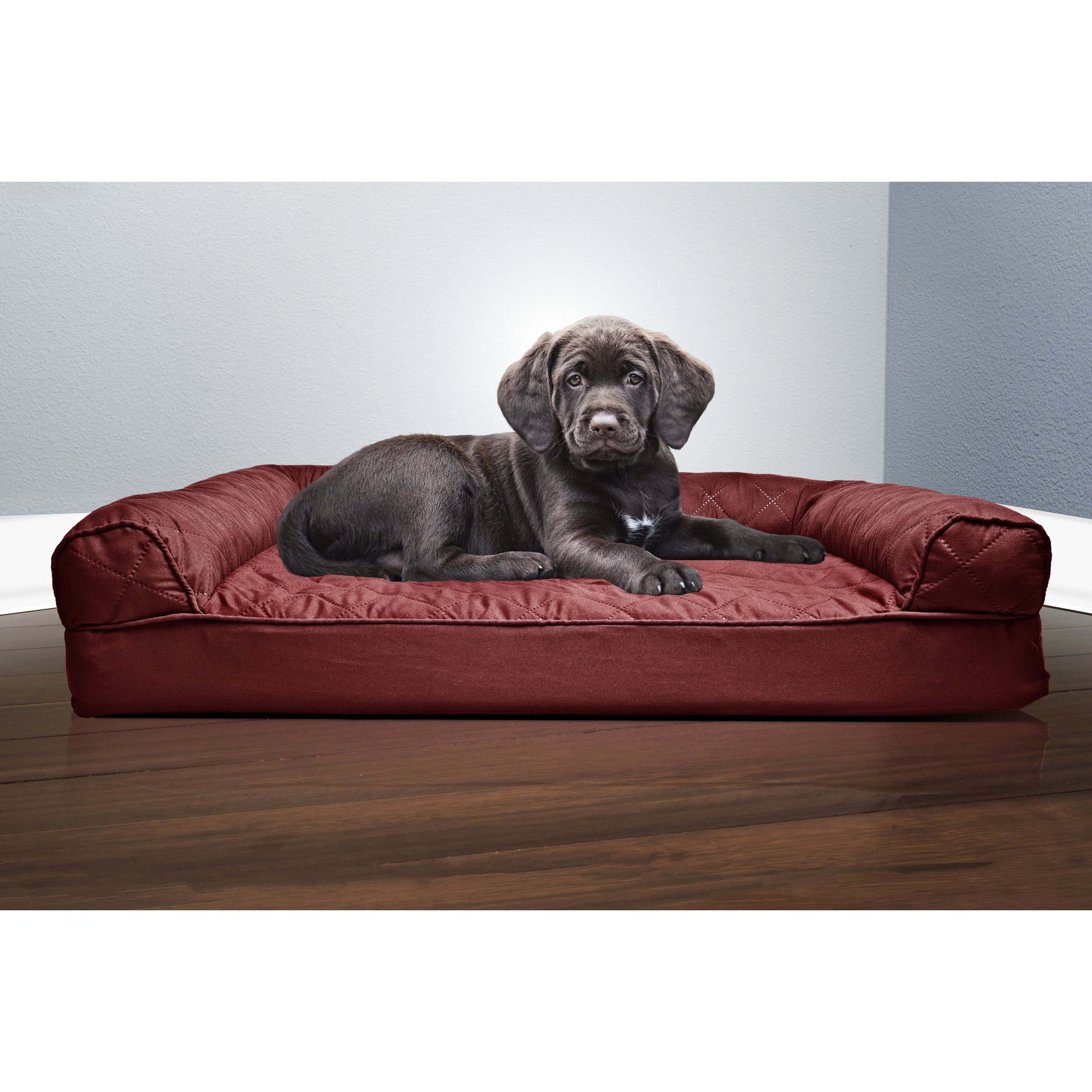 Terrific Furhaven Pet Bed Quilted Orthopedic Sofa Dog Bed Small Ibusinesslaw Wood Chair Design Ideas Ibusinesslaworg