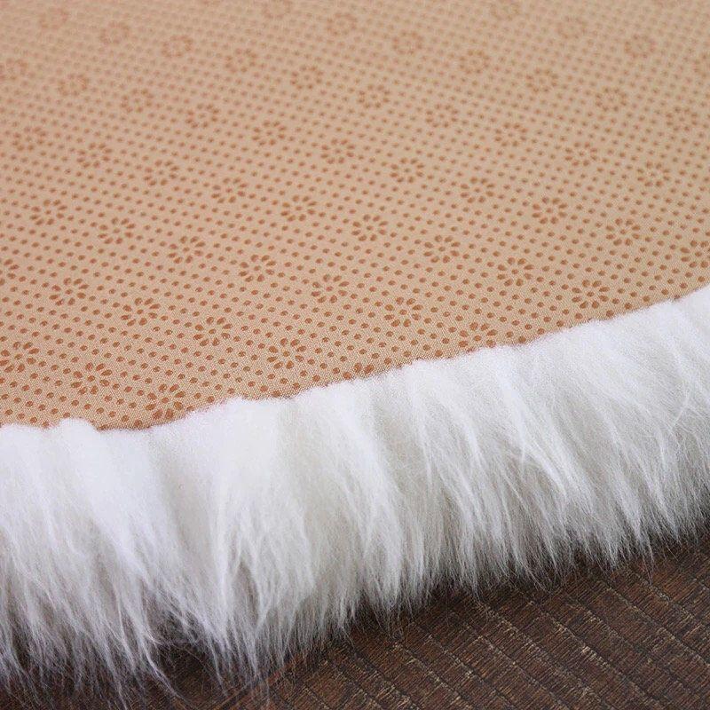 Round Oval Premium 100 Real Australian Sheepskin Rug Fur Carpet White Step Door Mat Sheep In 2020 Sheepskin Rug Fur Carpet Round Carpets
