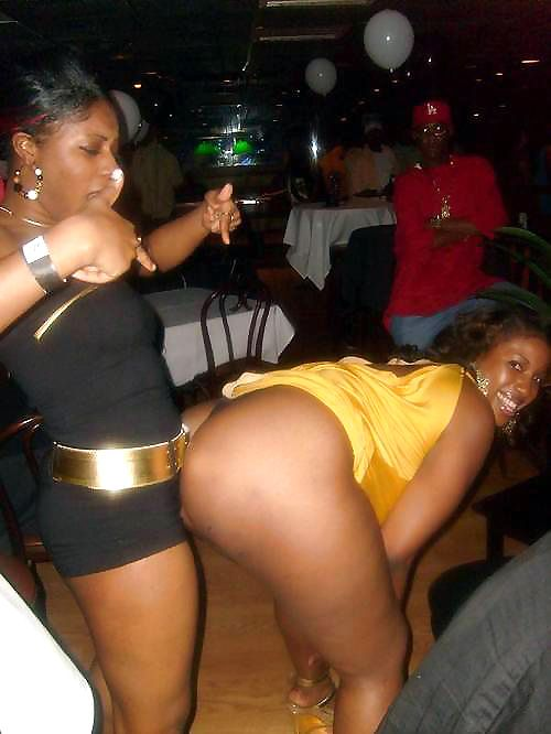 ebony girls having sex in a club