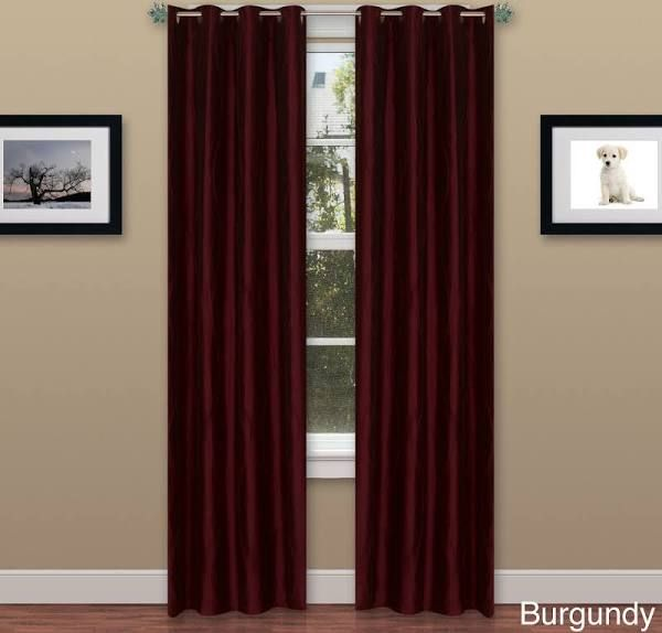 Burgundy Curtains Future House In 2019 Curtains Panel