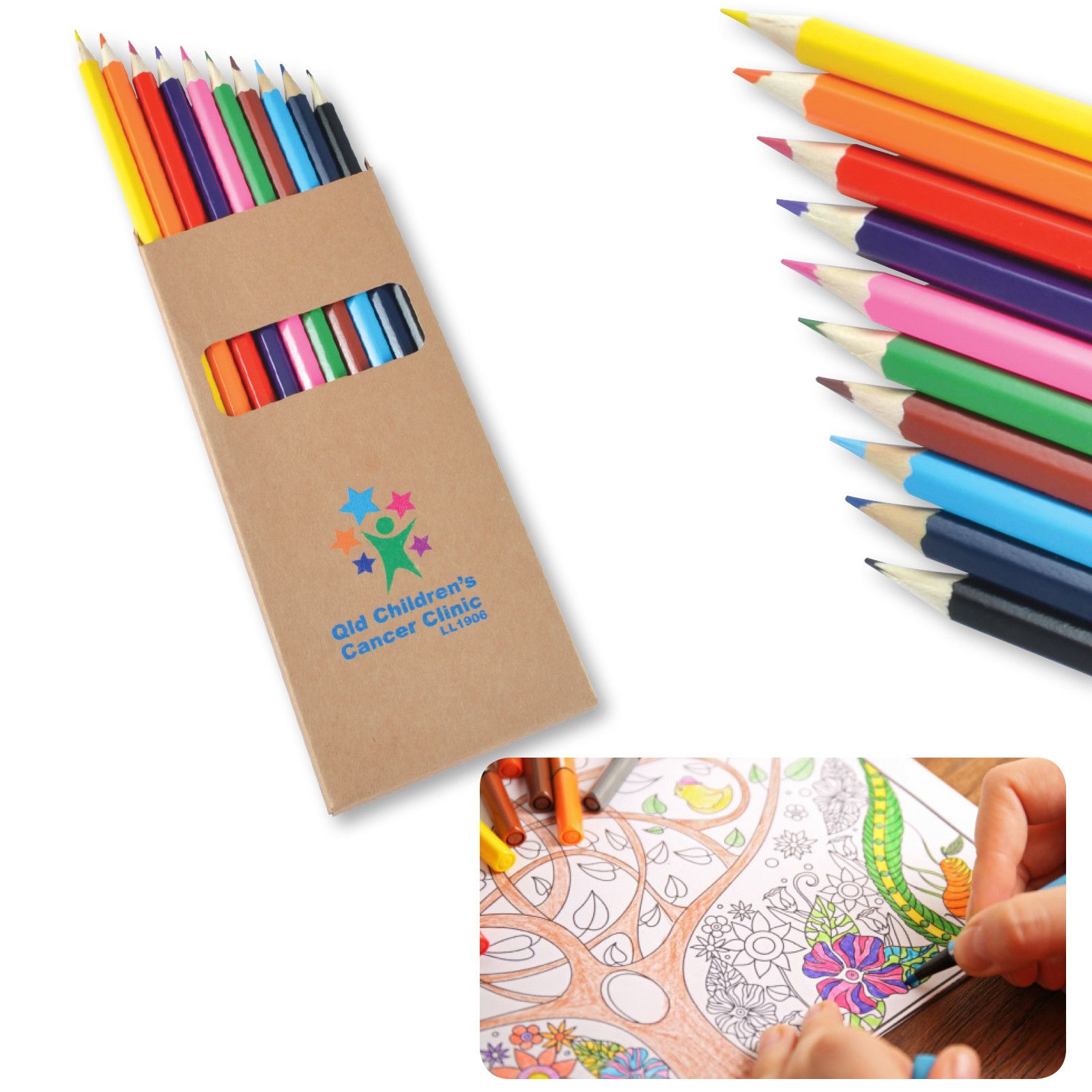 Surprise Kids And S By Customising This Colour Pencils With Your Brand Logo Or Name From