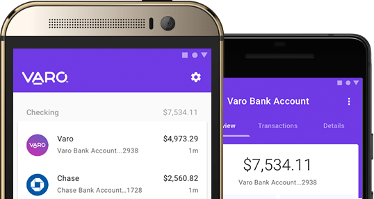 Varo for Android - Varo Money Only for iPhone until Now