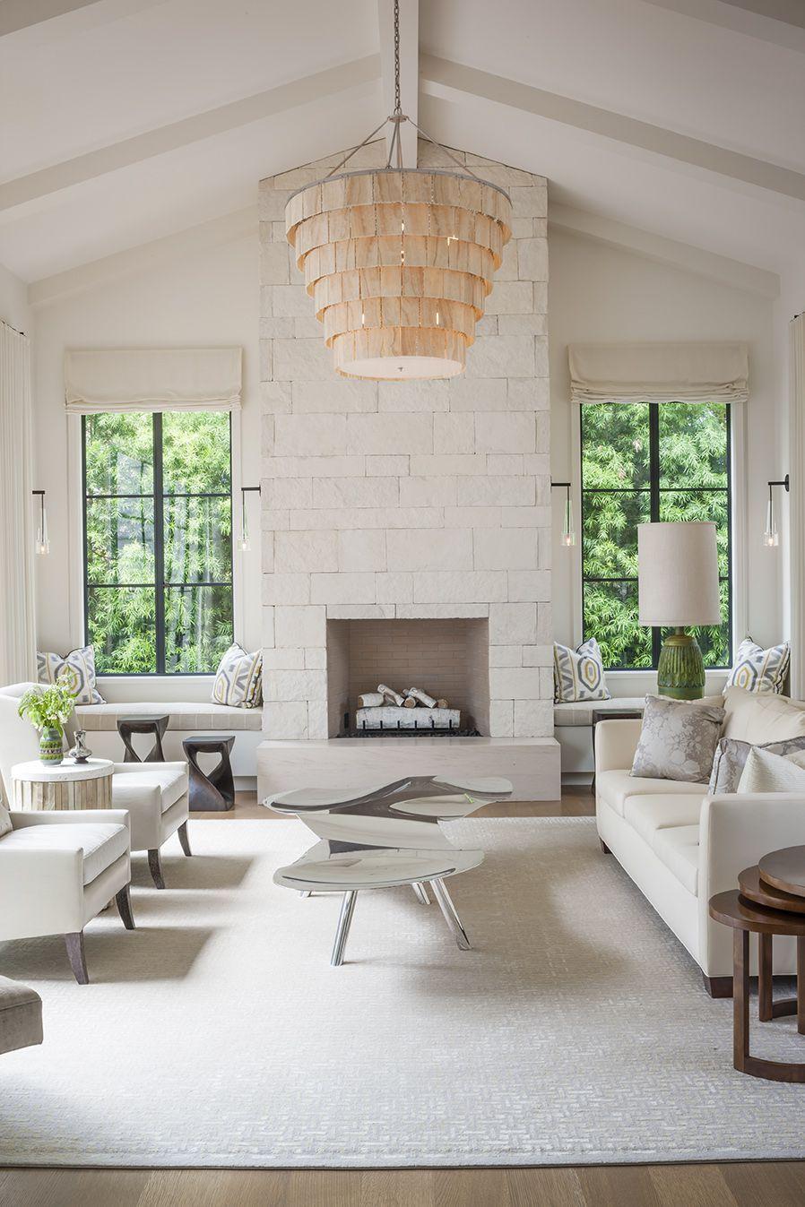 12 Best Fireplace Between Windows Ideas Fireplace Between Windows Home Living Room With Fireplace