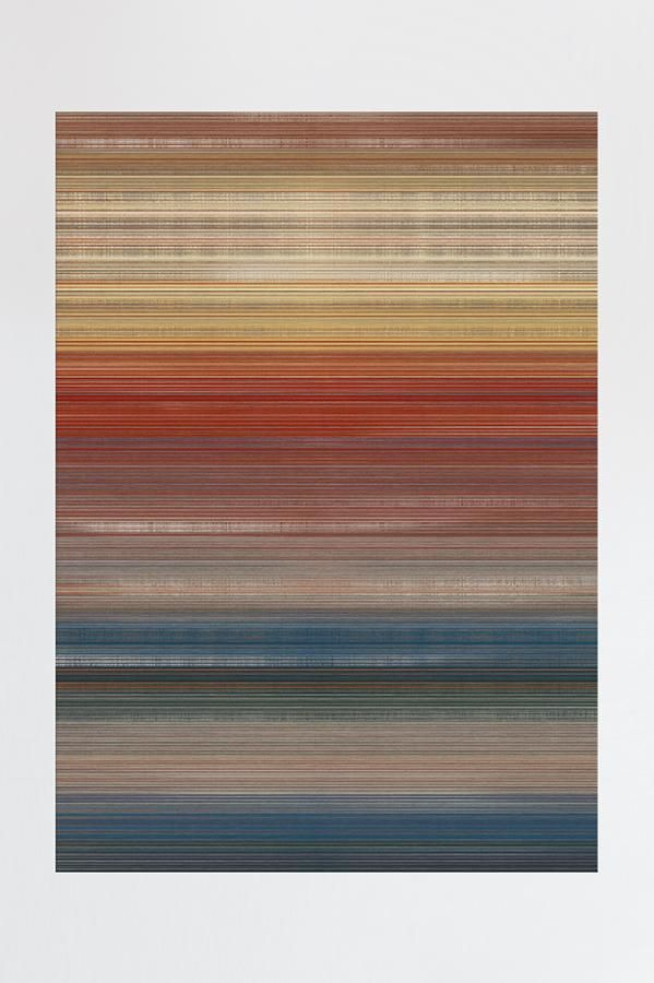 Linear Striped Multicolor Rug Washable Rugs Rugs Washable Area