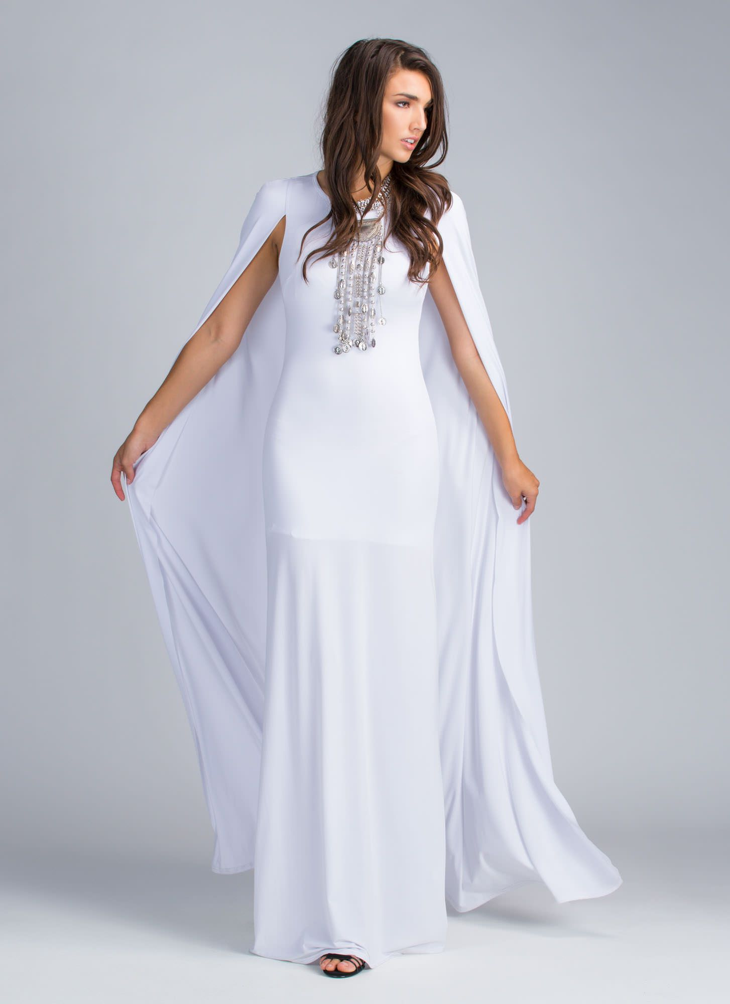 Invite only caped maxi dress gojane just because pinterest