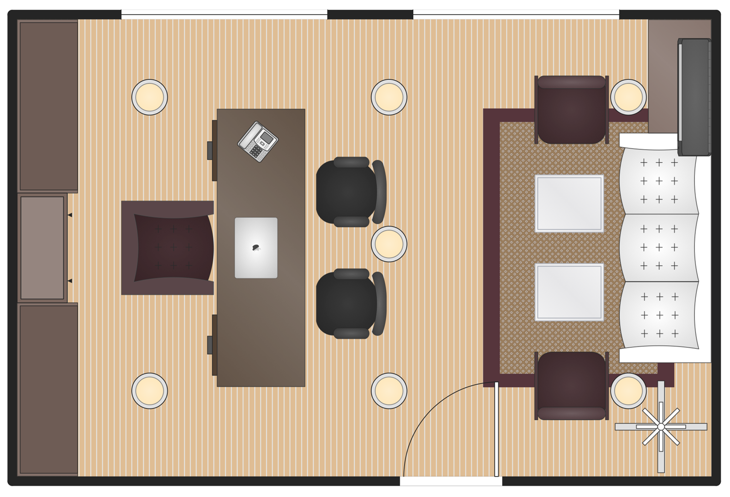 Executive Office Plan Office Layout Plan Office Layout Office Plan