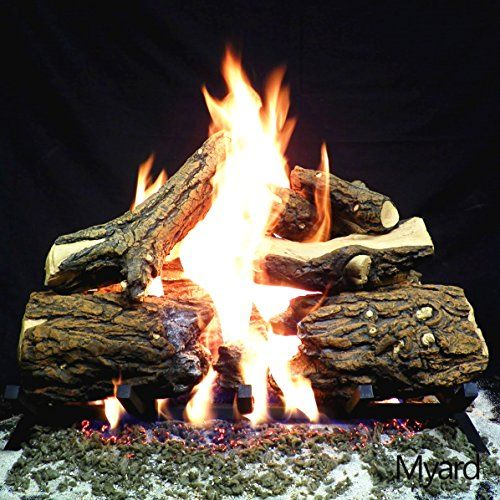 Designed Manufactured In Ca Usa Btu Heat Output Gas Log Sets 15