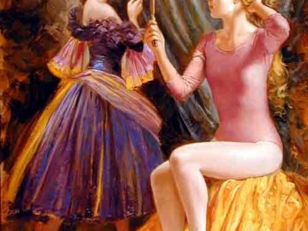75 belle peinture de ballerines et autre de femmes que j`ai trouver sûr le net
