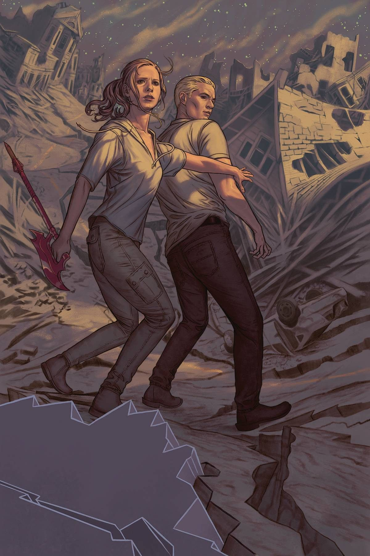 BUFFY THE VAMPIRE SLAYER #3 SEASON 9 Variant Cover Comic Book Joss Whedon