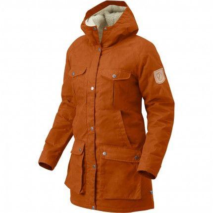 check out 41982 69950 Fjaellraeven Da. Greenland Winter Parka dunkelorange 1 | we ...