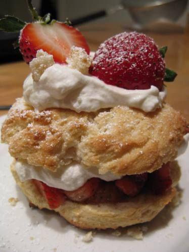 lazy man's fancy strawberry shortcake