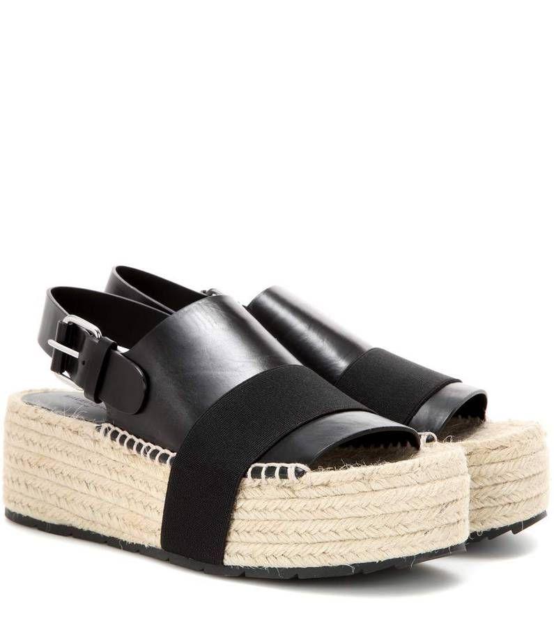 Sandales En Cuir Printemps / Été Balenciaga UNs31h