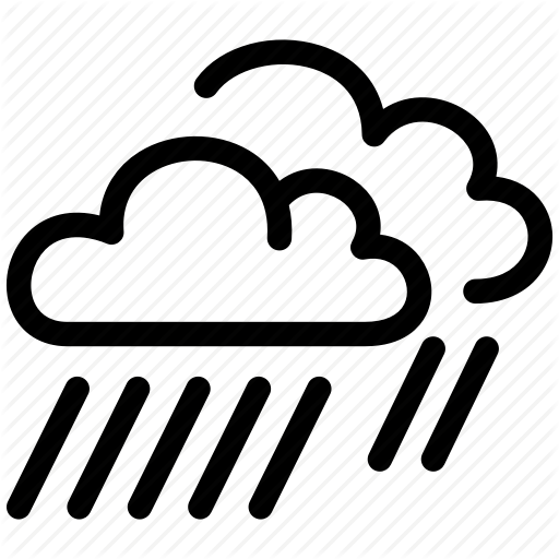 Cloud Day Heavy Preciptiation Rain Weather Icon Download On Iconfinder Weather Icons Icon Clouds