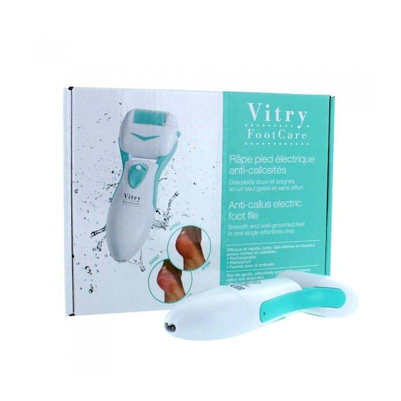Lima electronica para pies #Vitry.Va con pilas y el pack lleva un cabezal de recambio. #farmacia #pies