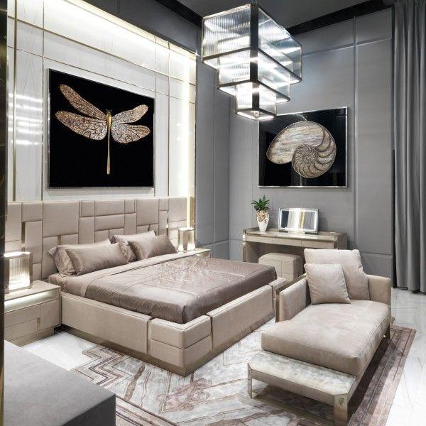 современные спальни дизайн: Beloved - Спальня