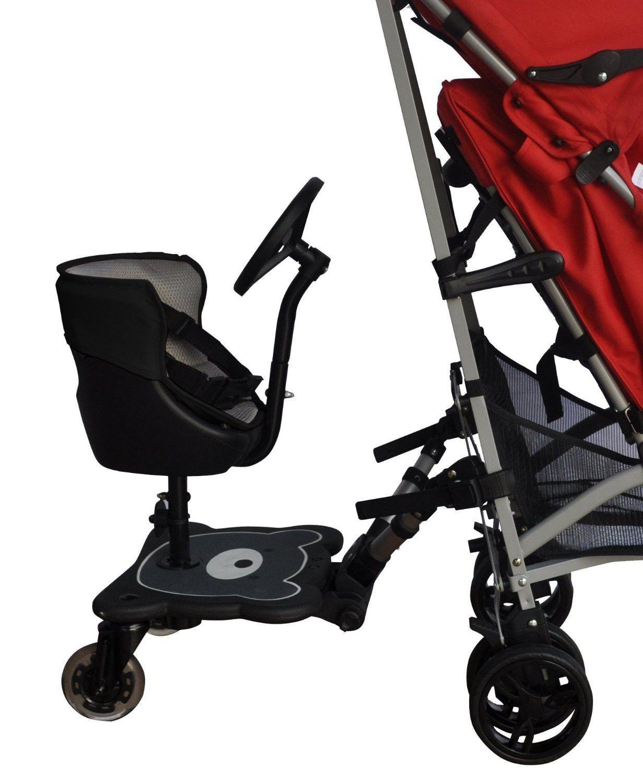 Englacha 2in1 Cozy B Rider Connector, Black Cool baby