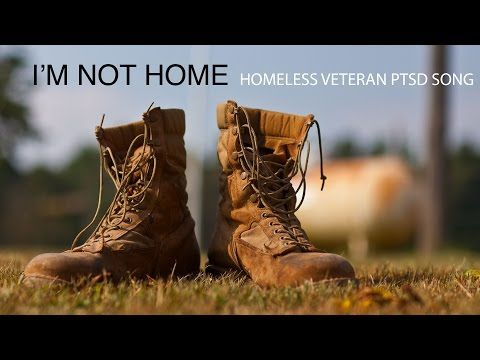 Homeless Veteran PTSD Song - I'm Not Home (Official Lyric Video) -