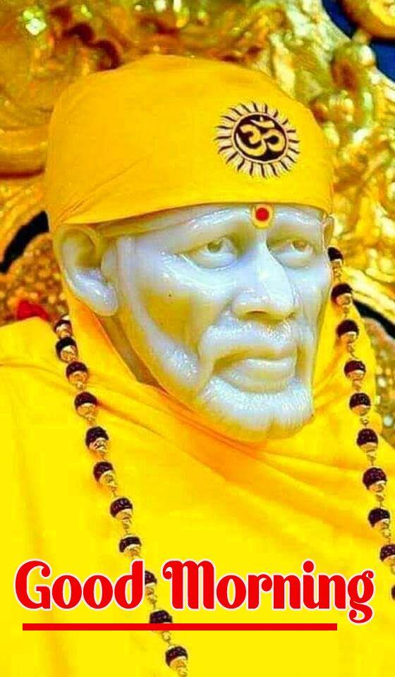 Sai Baba Good Morning Images Wallpaper Photo Pics HD ...
