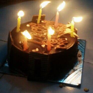 Manisha birthday cake very unique design Pinterest