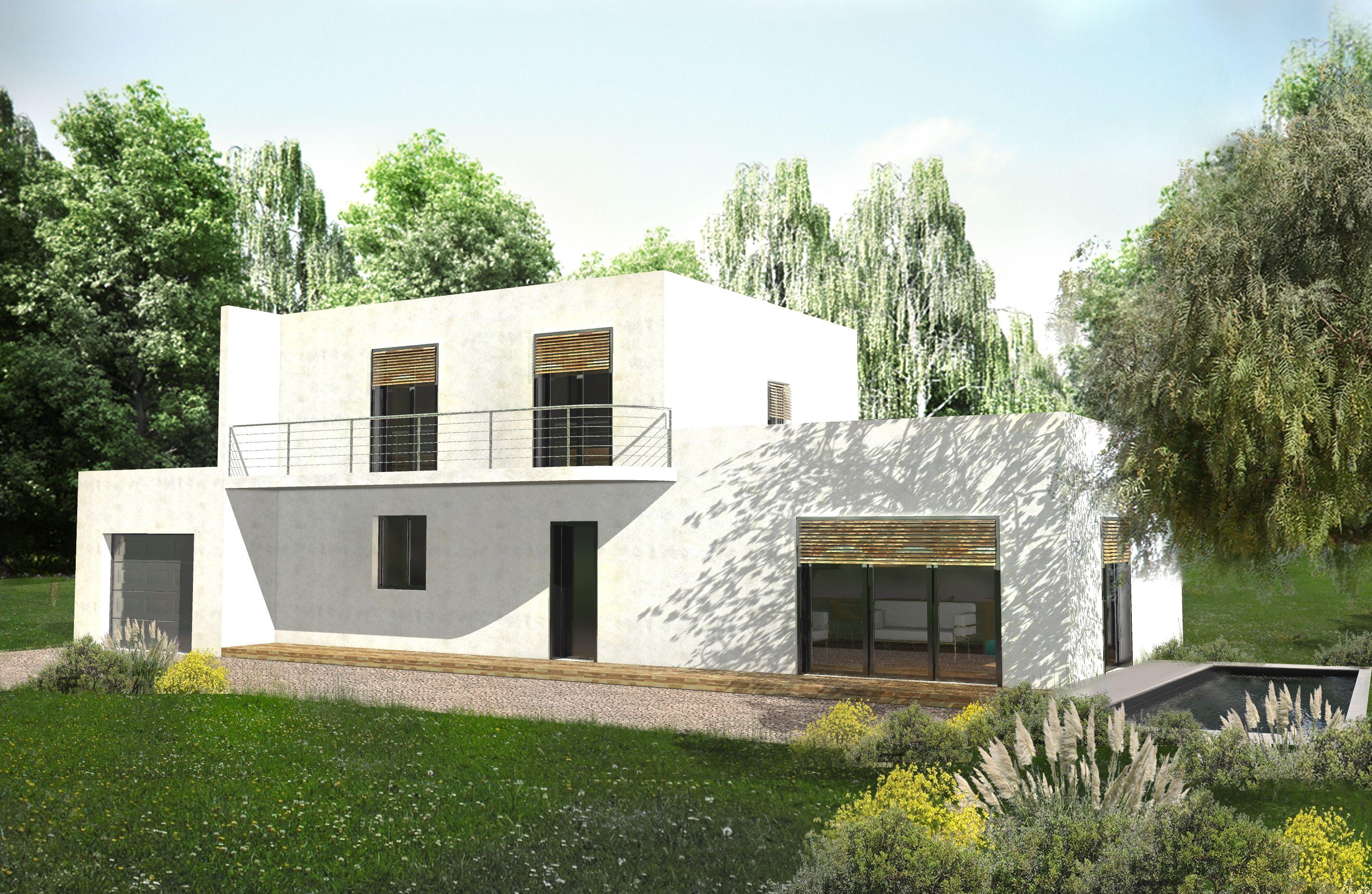 découvrez la maison hourc, maison de 128 m², elle possède une petite