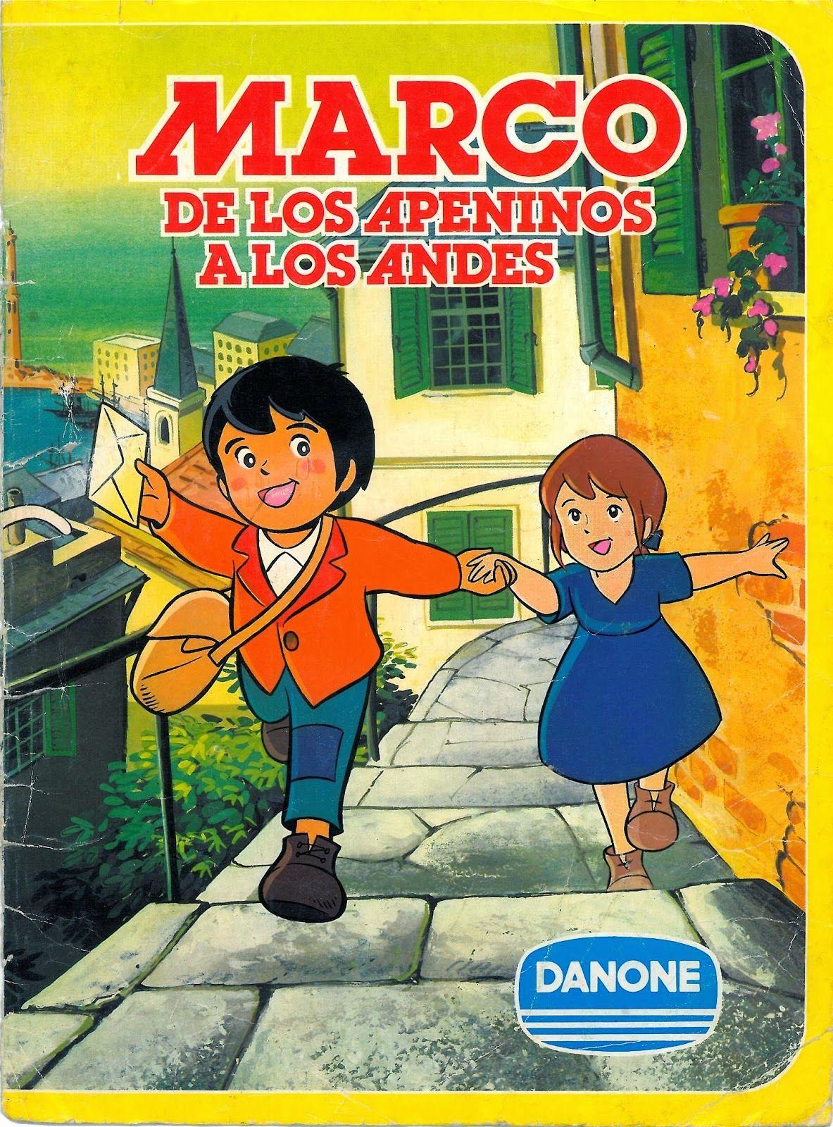 Juegos y Juguetes de Antaño: Álbum de cromos de Marco (De Danone ...