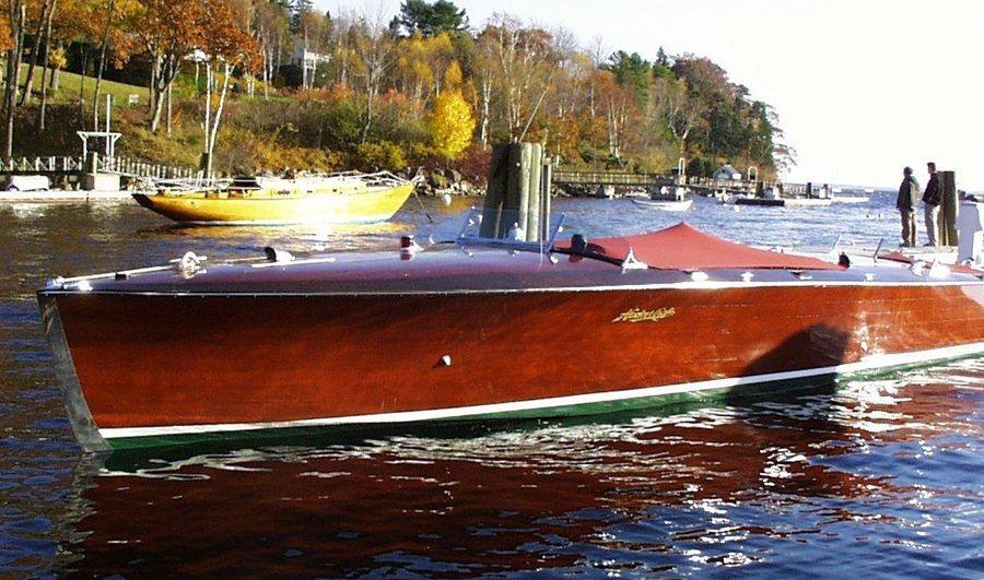 Advertising 1930 Chris-craft Motor Boat 34-foot Commuting Cruiser Art Vtg Print Ad Online Discount