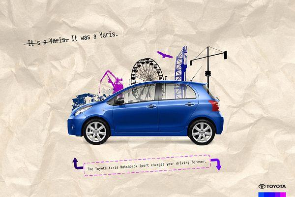 30 Creative Car Ads Toyota Kombis Werbung