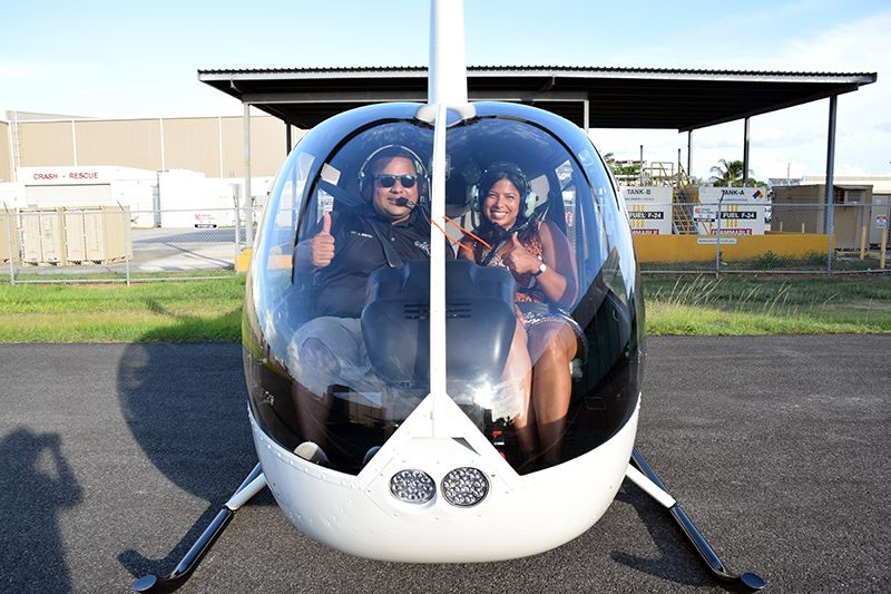 Puerto Rico Helitours, San Juan - a local company owned by Capt Carlos Benitez and his wife, Belkys Perez.