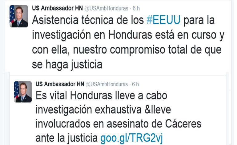 """Nealon: """"Vital que Honduras lleve a cabo investigación exhaustiva"""""""