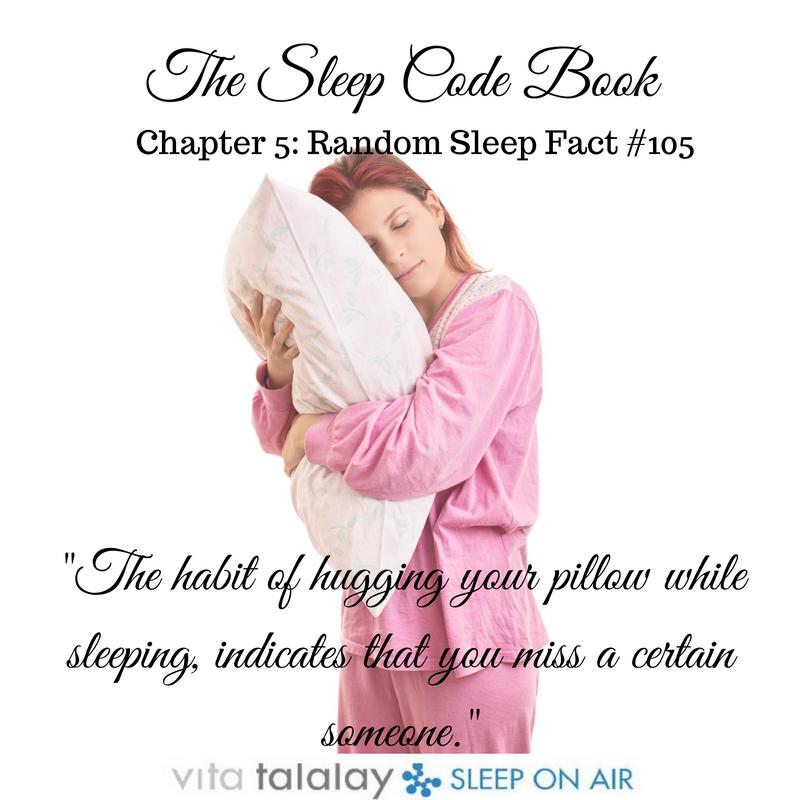 pillow while sleeping indicates