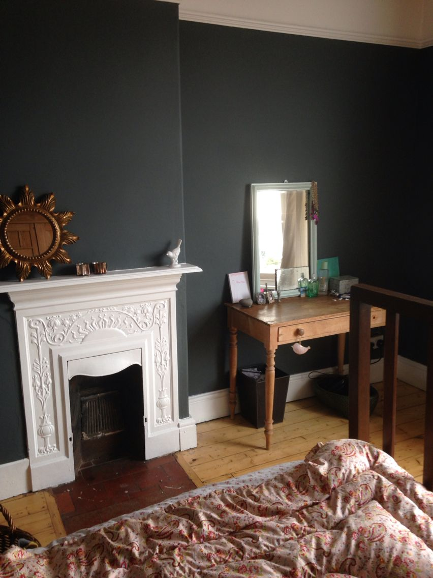 Bedroom in farrow and ball downpipe   Farrow and ball ...